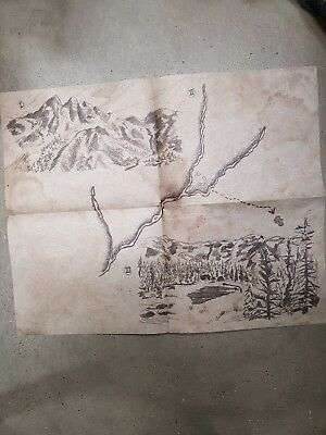 RED DEAD REDEMPTION 2 COLLECTOR'S Treasure Map NEW original