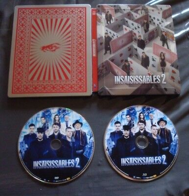 Blu-Ray Steelbook Insaisissables 2 (Combo Blu-Ray + DVD) RARE
