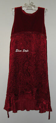 "Gorgeous Velvet Christmas Elegant ""George"" party girls dress in size 7"