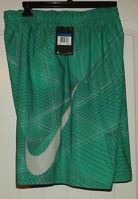eba09c9280 Nike Breaker 9-inch Volley Green Shorts Swim Trunks NESS8416-317 Mens XL NWT