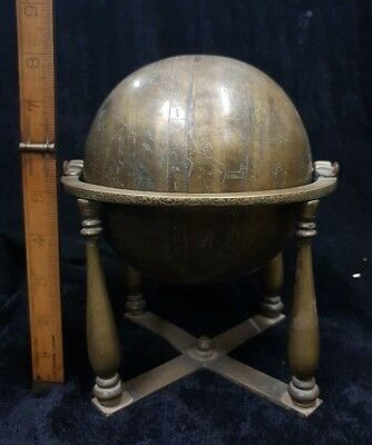 Persian Brass Globe - Engraved Work - Museum Quality