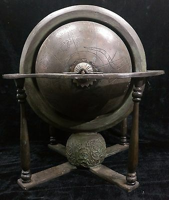 Ottoman BIG Globe - Astronomical / Astrological Instrument