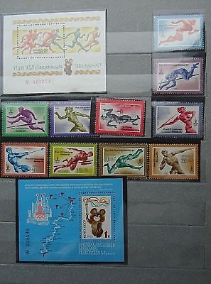 Olympic Games Various Sports USSR MNH (6 lots), Various Years
