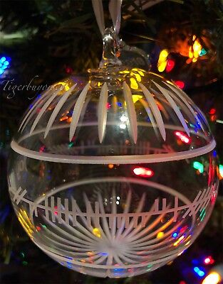 Waterford 2018 OGHAM JOY BALL Crystal Ornament NIB New in Box