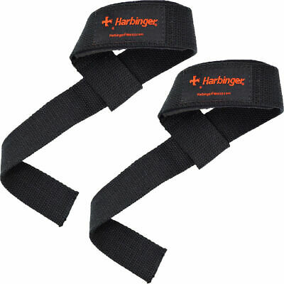 Pair Ausdauertraining Harbinger 21501 Heavy Cotton Lifting Straps