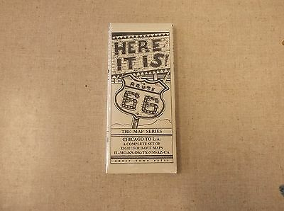 Route 66 Road Maps 8 State Map Series Pack Individual Paper  Here It Is