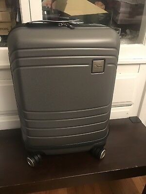 Skyway Luggage Cascadia Carry-On Grey  Expandable Spinner Dual Wheel System