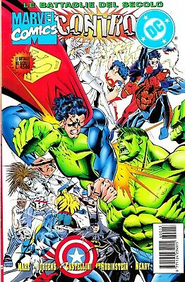 LE BATTAGLIE DEL SECOLO n. 8 - MARVEL COMICS vs. DC COMICS - EDICOLA
