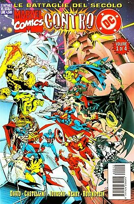 LE BATTAGLIE DEL SECOLO n. 7 - MARVEL COMICS vs. DC COMICS  1 di 4 - EDICOLA