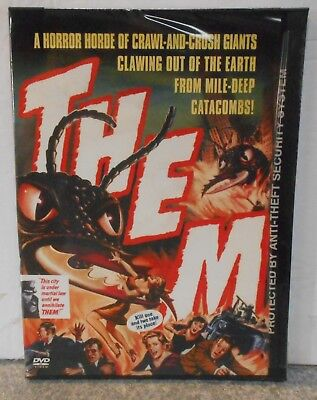 Them (DVD, 2002) VERY RARE 1954 SCI FI HORROR BRAND NEW ORIGINAL SNAPCASE