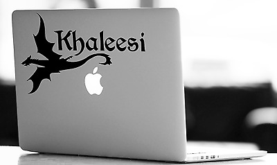 Game of Thrones Khaleesi Dragon Decal Sticker for Car/Laptop/Consoles/Mirror