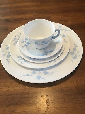 Copeland Spode China Geisha Place Setting Dinner Salad Cup More Blanche de Chine