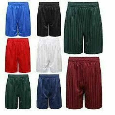 Shadow Stripe Pe Shorts Boys Girls Unisex Sports Adult Football Gym School Short