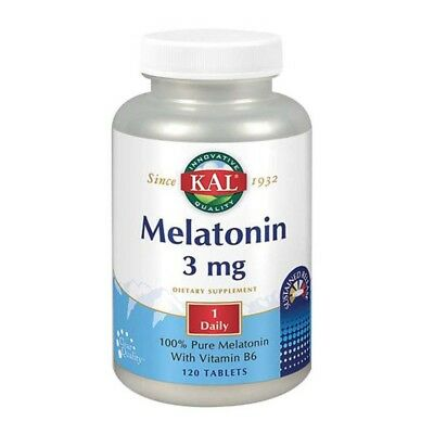 Melatonina 120 Compresse 3 MG da Kal