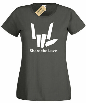 Womens Share The Love Funny T Shirt Tee Youtuber Stephen Sharer ladies