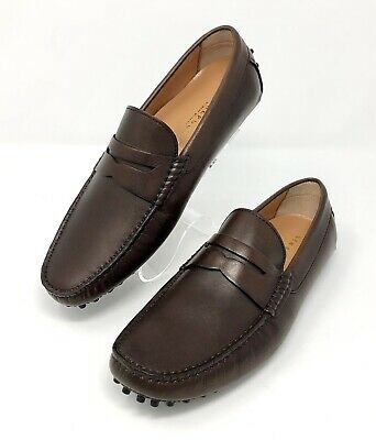 a9ef3b45869 New Republic Mark McNairy Mens Size 7 M Shoes Friar Brown Leather Driver  Loafers