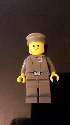 Dark Gray version LEGO® STAR WARS™ 7201 Imperial Officer™ Minifigure Old Color