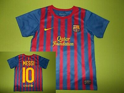 49d9a3591b6 FC BARCELONA HOME shirt 2011 2012 Messi 10 XL - £20.00