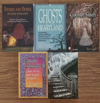 LOT OF 5 Books Ghosts Supernatural ESP Hauntings Poltergeists