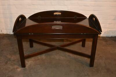 Ethan Allen Mahogany Butlers Table