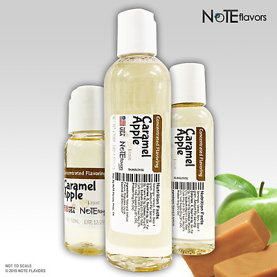Liquid Caramel Apple - 10-120mL Food Grade DIY Juice Flavor Drops Concentrate