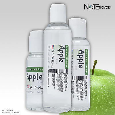 Liquid Apple -10-120mL Food Grade Concentrated Flavoring Drops DIY Juice Extract