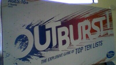 Outburst Game with  over 450 great topics !  you have 45 seconds ! ( ages 16+)