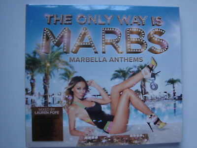 2293 The Only Way Is Marbs 3x CD album **BRAND NEW AND FACTORY SEALED**