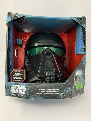 Star Wars Imperial Death Trooper Electronic Voice Changer Helmet Mask Rogue One