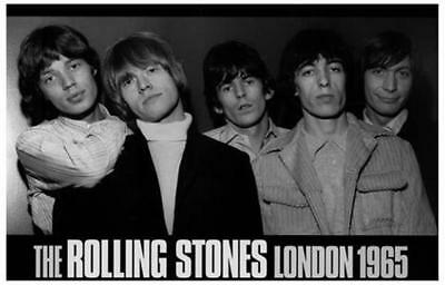 The Rolling Stones London 1965 Poster Print