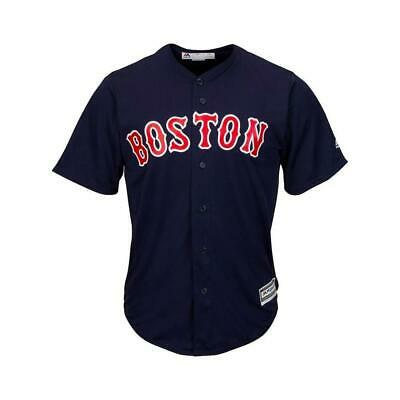 Youths Boston Red Sox Majestic MLB Cool Base Replica Jersey - Navy