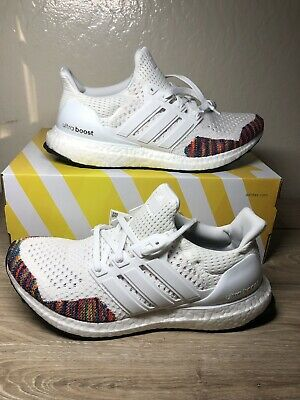 f250332ef2035 Adidas Ultra Boost LTD Mens Size 8.5 White Multicolor BB7800 New w Box