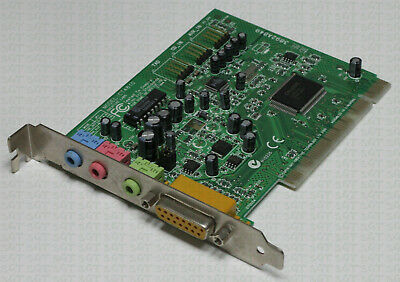 Creative CT4810 PCI Sound Card