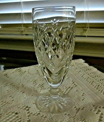 Waterford Donegal Short Stem Flute Champagne~Ex To Mint Condition~Hallmarked