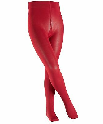 67193017663 Falke Girl s Cotton Touch Tights Rot (Cranberry 8033) 12 Years