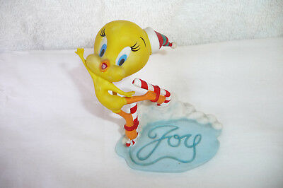 "Goebel Tweetie Pie ""Joy"" Collectable Figurine : Warner Bros 1999"