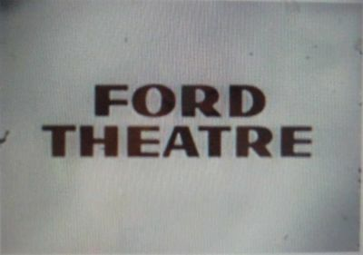 RARE DVD SET = FORD THEATRE - 1950's Drama Series  (NOT FROM TV RERUNS)