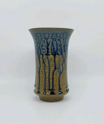 Exceptional Japanese Studio Pottery Vase Incredibly Thinly Potted