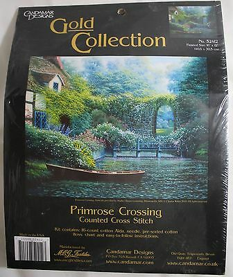 Candamar Designs  Gold Collection Counted Cross Stitch Kits - Many Variations