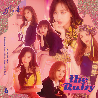 APRIL 6th mini [ RUBY ]  (CD+BOOKLET+PHOTOCARD) (KpopStoreinUSA)