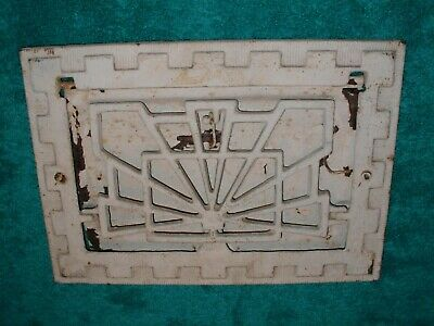 Vintage Antique Symonds Art Deco HVAC Register Vent Grate #235? Cast Iron HEAT