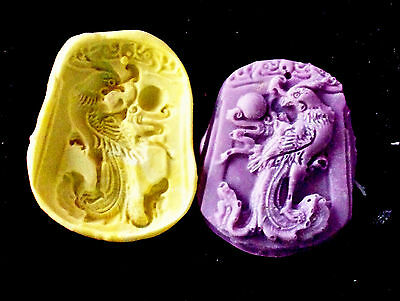 Phoenix g8-Flexible Silicone Mold-Cake Bird Cookie Crafts Cupcake Clay Candy