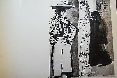 Pablo Picasso - to the Toros. Edition Andre Sauret 1961