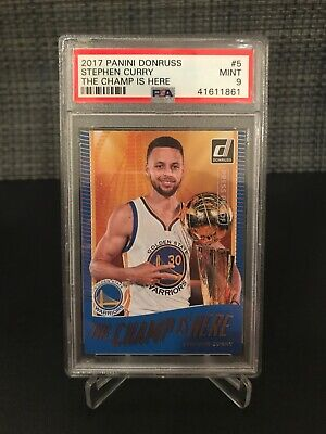 a8f3ad9b929a 2017 DONRUSS STEPHEN Curry The Champ Is Here Press Proof PSA 9 - EUR ...