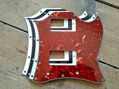 11-Hole Large Full Face Guitar Pickguard for Gibson American USA SG Guitars