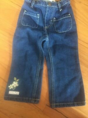 Brand New With Tags Classic Pooh Bear Jeans Size 18 Months Baby Girl Vintage