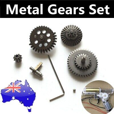 Metal Gearbox Gear Kit for Jinming Gen8 M4A1 j9-M4 SCAR V2 Gel Ball Blaster Toy