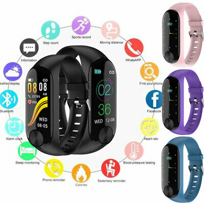 Smart Watch Bracelet Fitness Activity Tracker Sport Wristband For Android iOS
