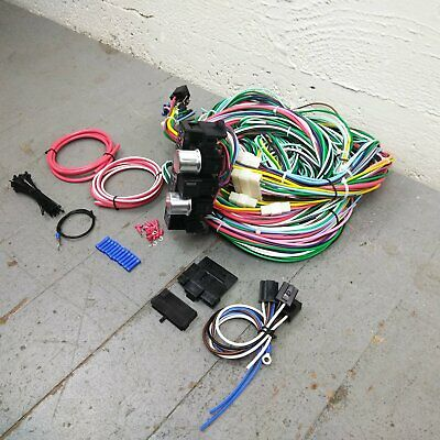 vintage car & truck parts 1994-2001 chevrolet s10 2wd wire harness upgrade  kit fits painless