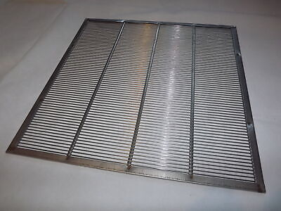 Queen Excluder - 46cm x 46cm - Steel Wire with Bounded Edges - National Beehives
